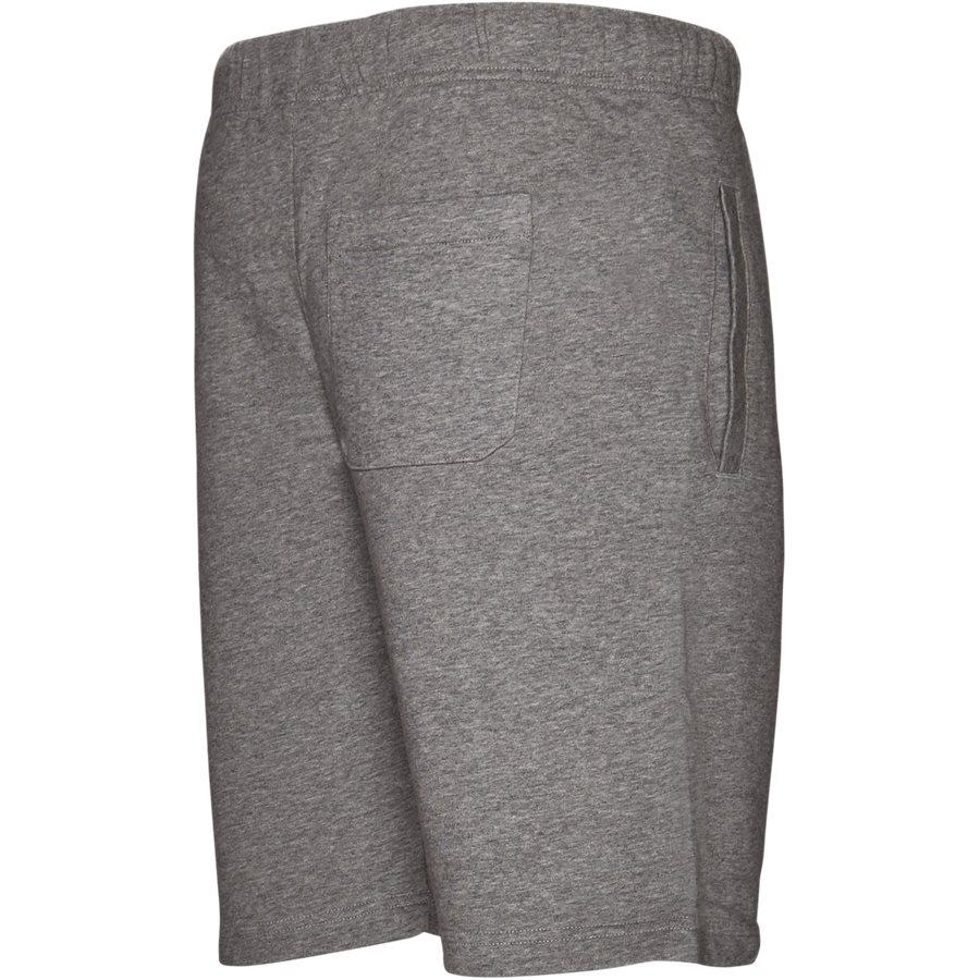 COLLEGE SWEAT SHORT. I024673 - College Sweat Shorts - Shorts - Regular - GREY HTR/WHITE - 3